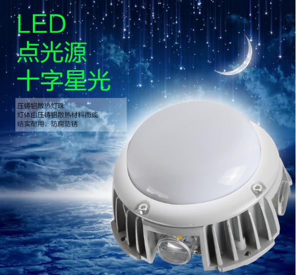 LED广告装饰灯十字星光灯商业楼体亮化