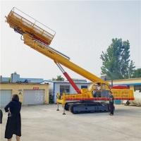 錨桿支護鉆機 全液壓履帶錨桿鉆機 舉高20米錨桿鉆機 工廠直