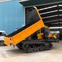 全钢轮履带运输车 10吨双驾履带运输车 山区混凝土运输自卸车