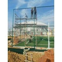 篮球场围墙防护栏 体育场球场护栏 学校操场围网