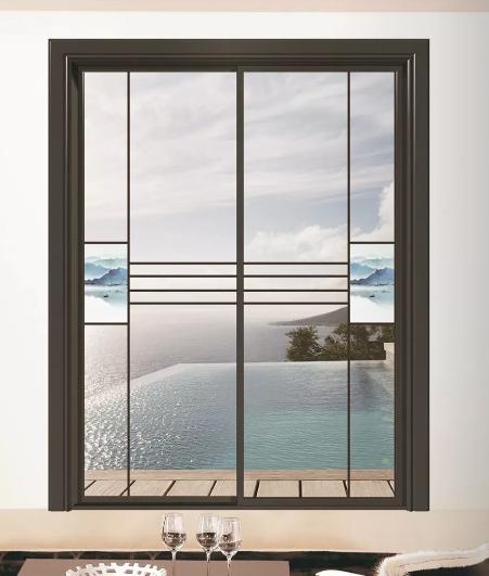 欧美亚中空玻璃装饰山水画配饰系列