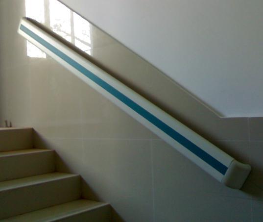 优质PVC防撞扶手丨走廊扶手丨140/159款仿木纹安全扶手