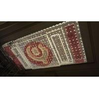 酒店大堂宴會廳長方形水晶吸頂燈