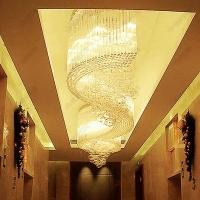 走廊过道电梯厅水晶吸顶灯 酒店工程灯