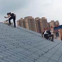 合成樹脂瓦屋頂屋面建筑材料用瓦片-坤寶建材
