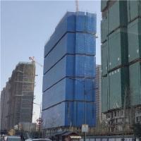 藍色爬架網片-爬架安全網-建筑外墻防護網