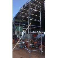 惠州惠城下角镀锌脚手架租售,下排高空作业平台租赁钢管搭建