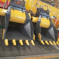 卡特320液壓粉碎鏟斗 環保便攜磕石機