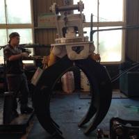 三一215液壓旋轉夾具 挖機夾木器批量定做
