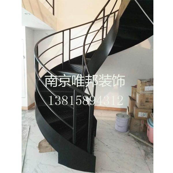 南京钢质楼梯-旋转楼梯-唯邦楼