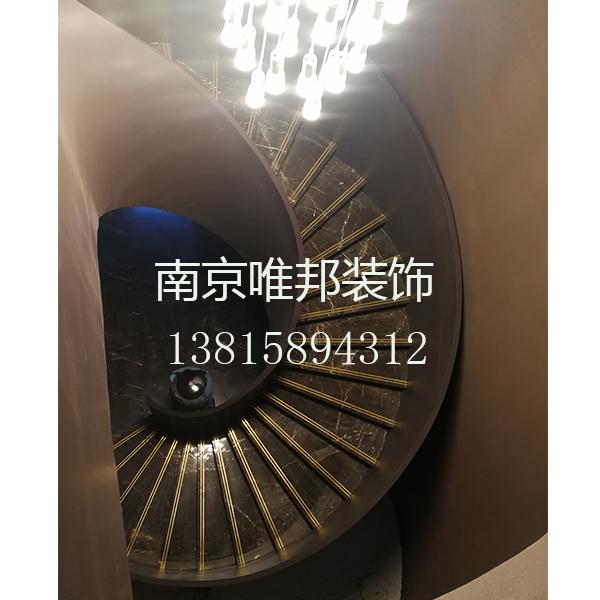 南京大理石楼梯、铁艺护栏-南京唯邦装饰工程有限公司