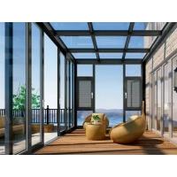 湖北省別墅陽光房定制,斷橋鋁陽光房門窗設計安裝