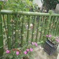恒森景观仿竹护栏2——7款 竹绿色