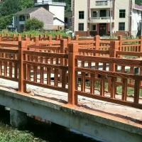 仿木护栏3——6款 红木色 桧木色 胡桃木