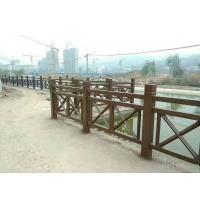 江西水泥欄桿仿木護欄仿竹欄桿仿石欄桿