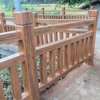 广东仿木护栏,水泥仿木护栏,混凝土仿木护栏