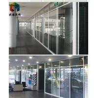 宿州玻璃隔墻雙層玻璃百葉隔斷