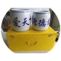 定做陶瓷拔火罐 陶瓷大火罐 陶瓷火罐厂家
