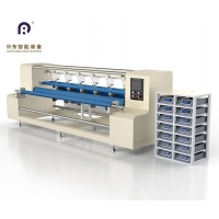 超声波窗帘布分条机 切条机 无尘布擦拭布切片机 自动化设备