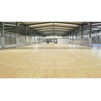 篮球馆运动实木地板,体育运动木地板--奥途体育