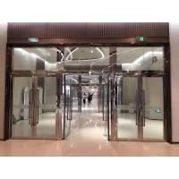 青岛水晶硅防火玻璃门
