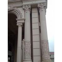 花岗岩罗马柱 圆柱子包大理石 大理石门柱规格