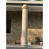 石材包柱子 石材盘龙柱 石材圆柱干挂