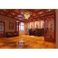 中式古建筑艺术彩绘吊顶集成吊顶通花板