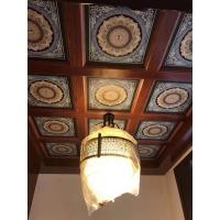 古建筑寺庙宗祠地宫艺术彩绘吊顶佛堂天花通花板