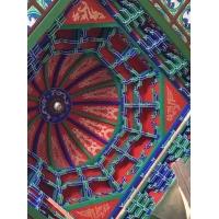 明清斗拱  屋檐下不銹鋼斗拱  寺廟彩繪描金斗拱