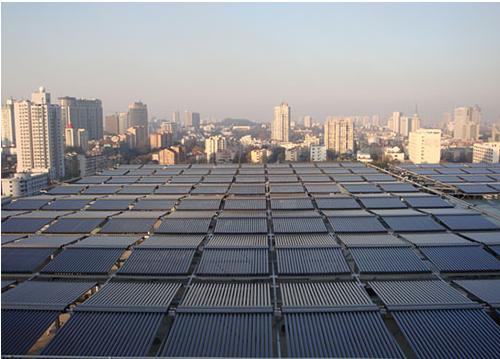 上海平铺非字型太阳能集热系统