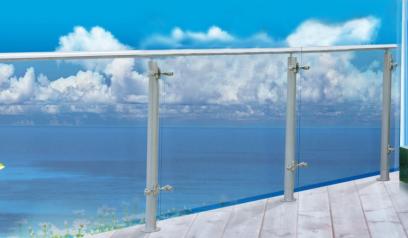 佳合寶鋁合金玻璃護欄JHB-AL-BL-001