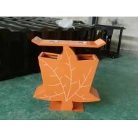 陕西环保垃圾桶,公园椅,户外塑木地板,塑胶地面