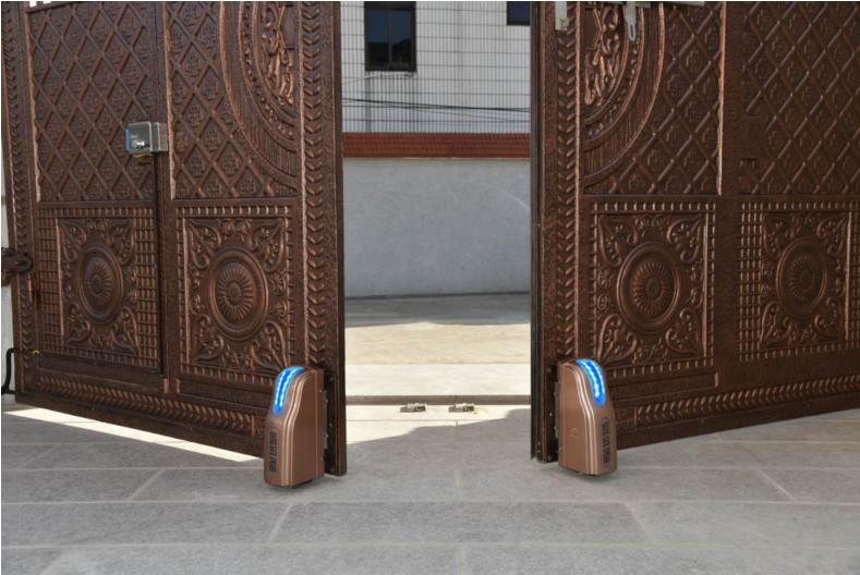 重庆市别墅电动门安装 厂区大门自动开门机闭门器安装