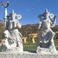 石雕四大天王,花岗岩四大金刚雕像,寺庙装饰
