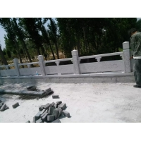 加工汉白玉石雕栏杆篮板石雕栏板大理石雕刻栏板批发