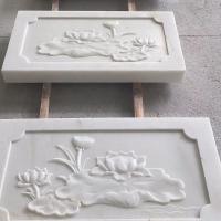 高档石雕汉白玉栏板石雕栏杆护栏景区石雕栏板
