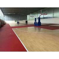常州籃球場pvc塑膠地板運動地板完美地板防滑抗菌綠質