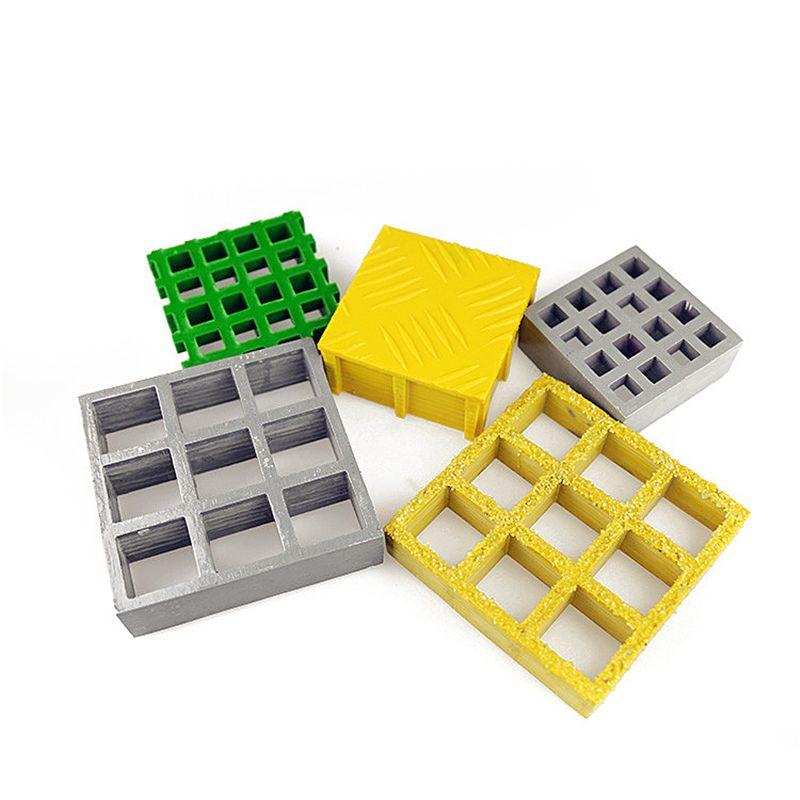 无锡优德 高分子排水沟盖板 地格栅格板 塑料FRP格栅