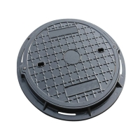无锡优德 厂家直销 树脂复合圆形井盖 污水圆井盖沙井盖圆 5