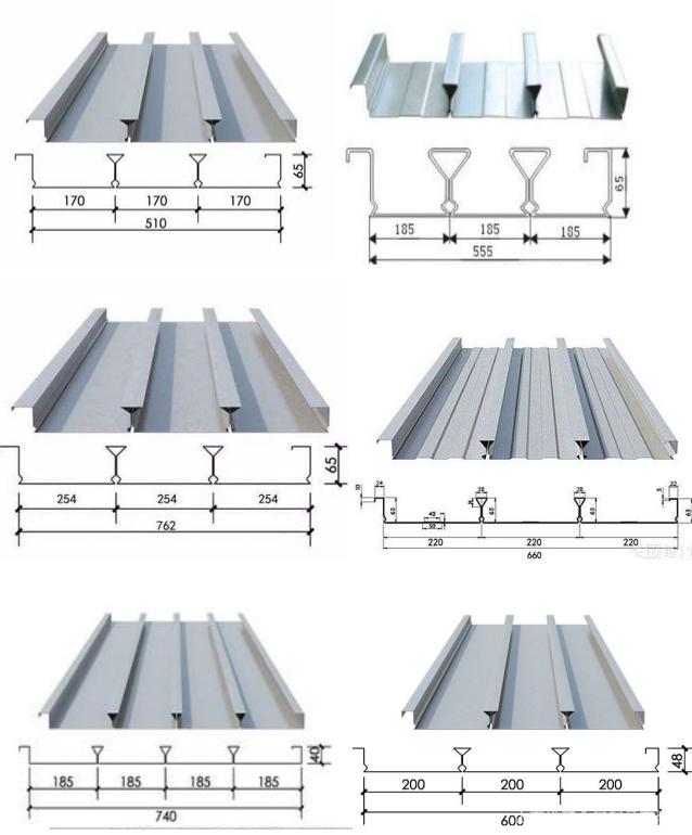 YXB40-188-750閉口樓承板