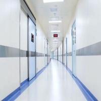 醫院手術室地膠安裝- pvc塑膠地板廠家