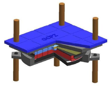 GCPZ盆式橡膠支座特點以及適用范圍