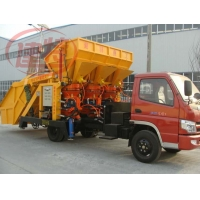 自動上料噴漿機 噴漿車 一拖二噴漿機組 工程型噴漿車