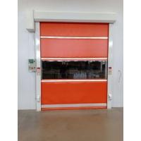 PVC材质透明视窗快速卷帘门/高速自动关闭/红外防夹