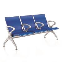 车站等候椅 休闲公共座椅 304不锈钢排椅