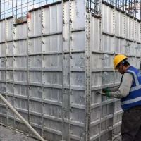 厂家加工定做铝模板 融易建免调校拉片体系铝模板 效率高 成本