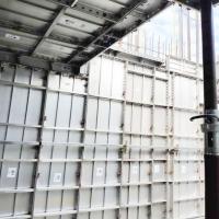 高层房建铝模板厂家 新型建筑铝型材 拉片体系 可缩短施工工期