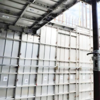铝合金模板厂家 出租铝模板 免堵洞 免抹灰 免调校 工期短