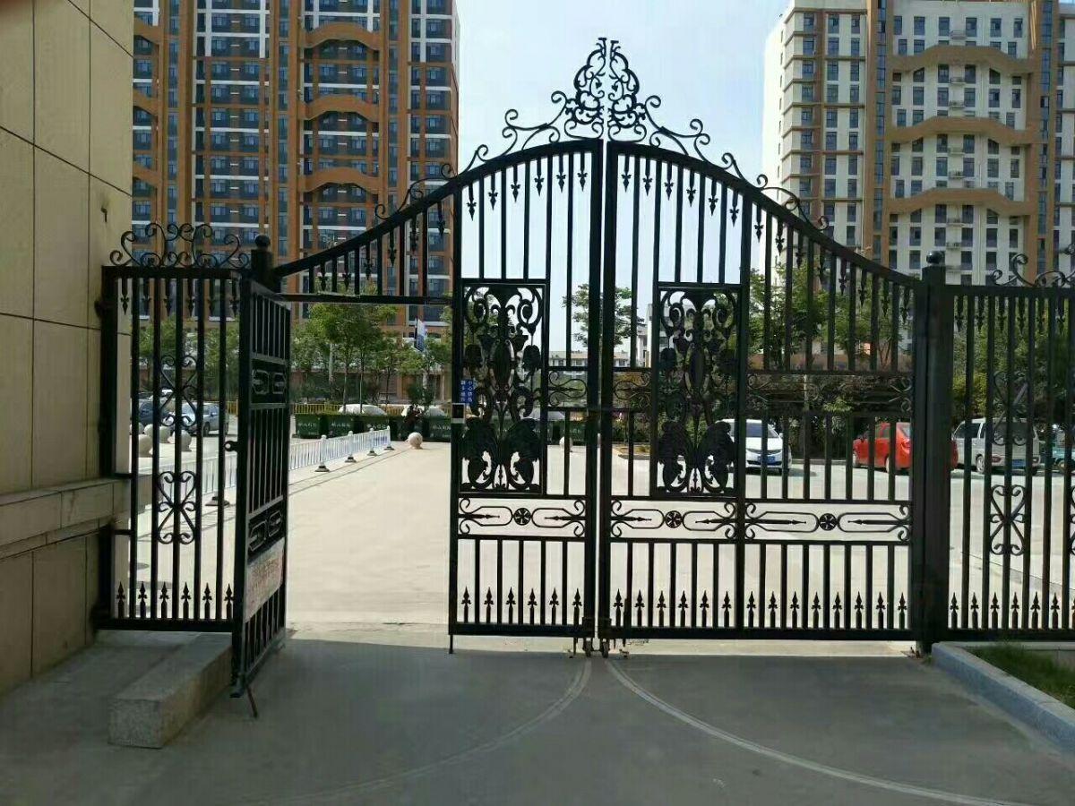 【天津河西区铁艺大门安装,远大铁艺门定做,天... _机电之家网
